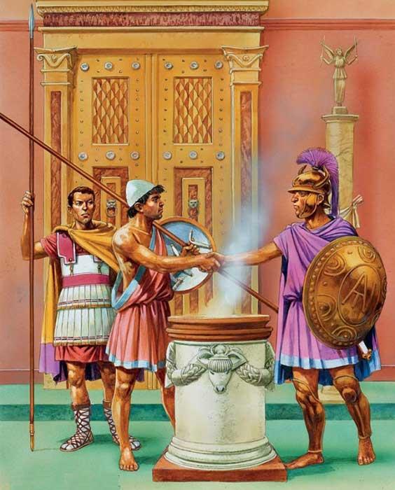 Воины диадохов