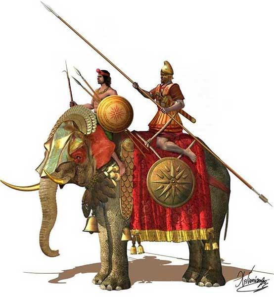 Боевые слоны диадохов