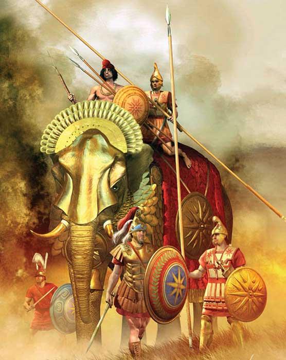 Слоны диадохов