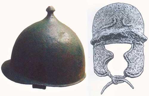 Шлемы легионеров 1 в. до н.э.