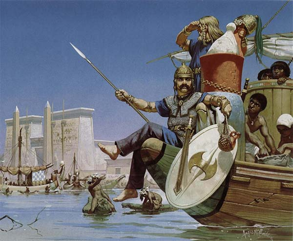 Галат наемник в Египте
