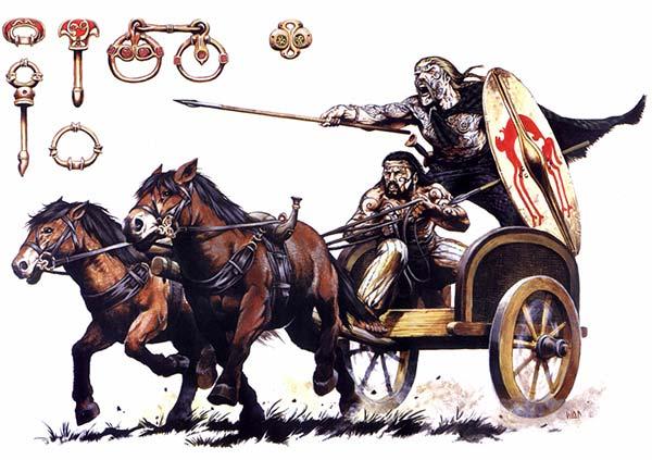 Кельтская колесница