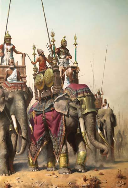 Слоны селевкидов в битве слонов