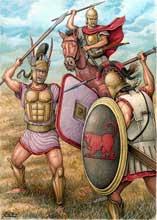 Римская армия в бою