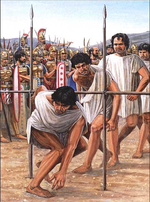 Римляне под ярмом при Кавдинском ущелье