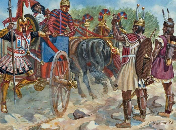 Карфагеняне и сардинцы, 6 в.
