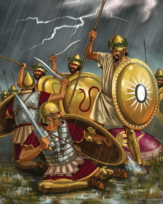 Тимолеонт в битве при Кримисе