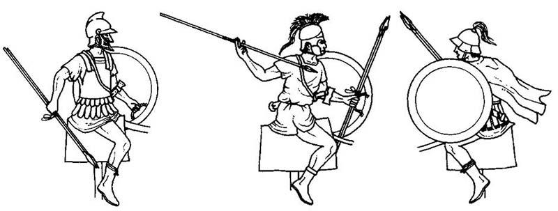 Греческие всадники