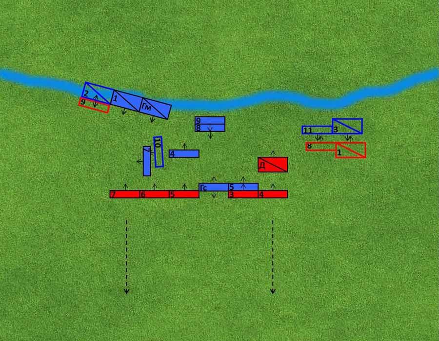 Варгейм - битва при Кримисе