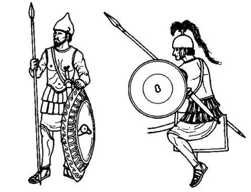 Пехота и конница граждан Карфагена