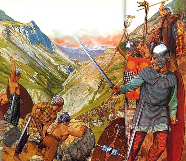 Ганнибал в Альпах