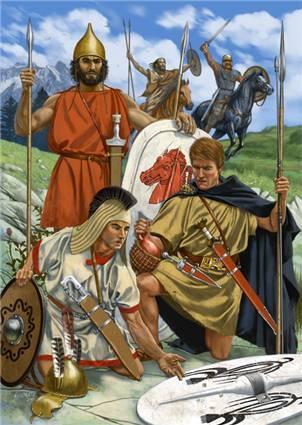 Карфагенские воины