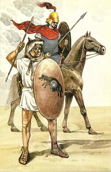 Римский всадник и велит