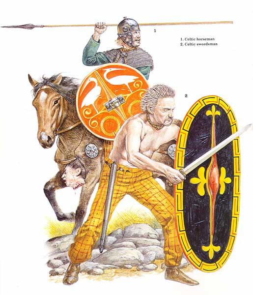 Галлы (кельты) в Пунических войнах