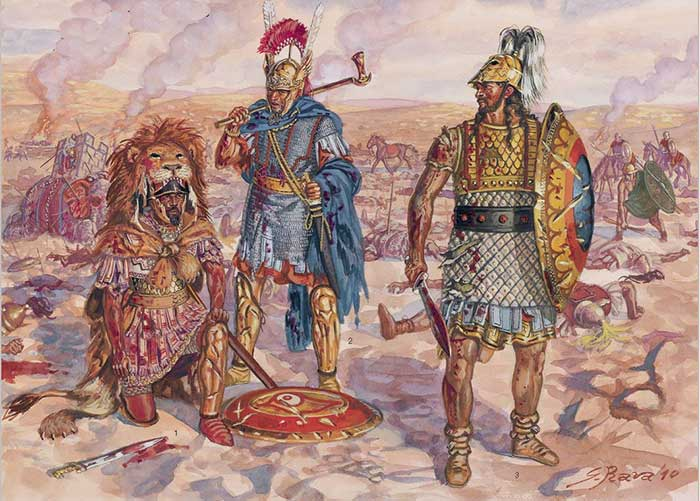 Газдрубал в битве при Метавре