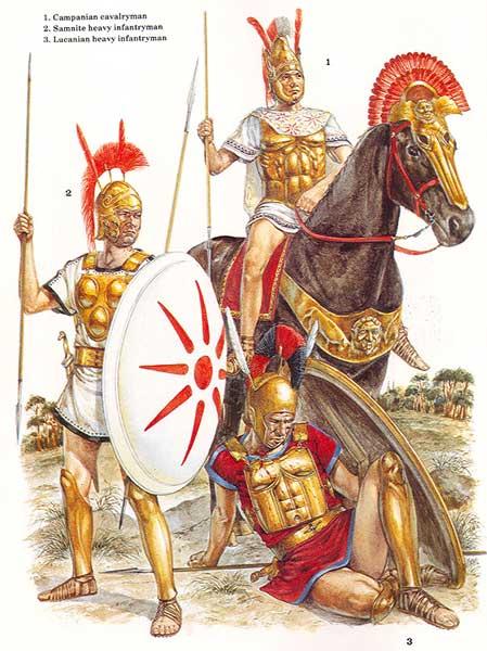 Италики в Пунических войнах