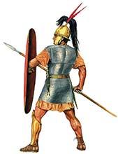 Легионер триарий