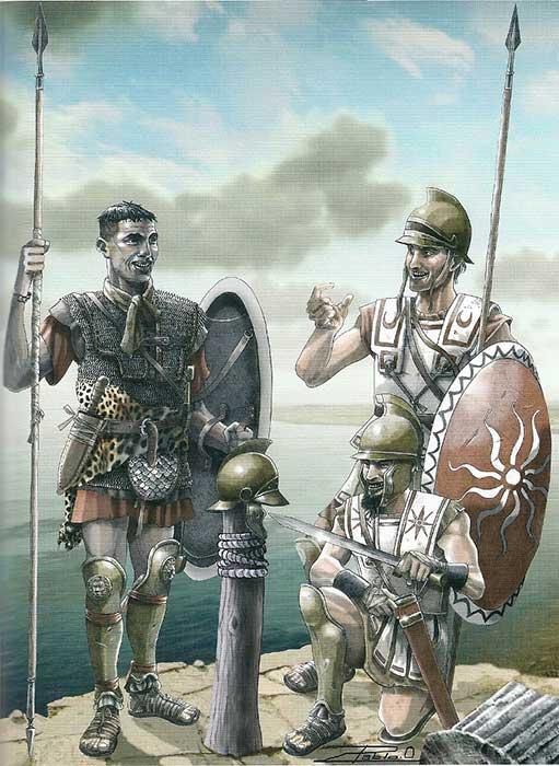 Ливофиникийские копейщики Карфагена