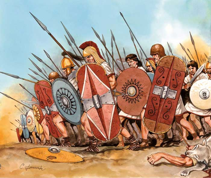 Кельтиберы в битве на Великих Равнинах