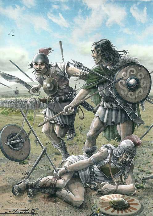 Кельтиберы в битве при Илипе
