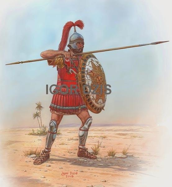 Карфагенский копейщик 3 в. до н.э.