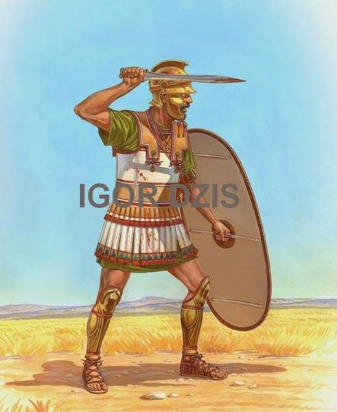 Ливиец середины 3 в. до н.э.