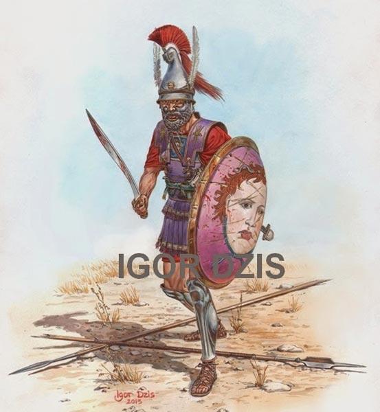 Македонский офицер 3 в. до н.э.