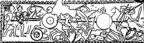 Эллинистическая конница со щитами