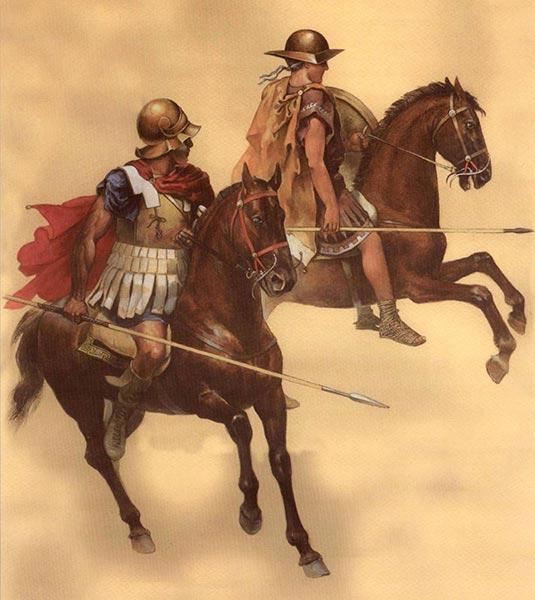 Греческая конница 3-2 в. до н.э.
