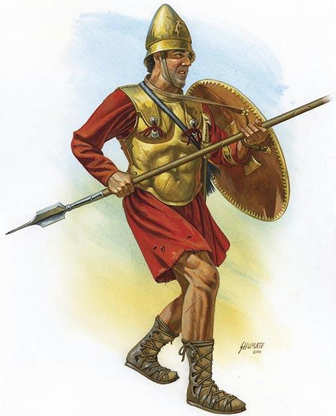 Македонский или ахейский фалангит