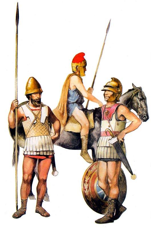 Македонские пельтасты
