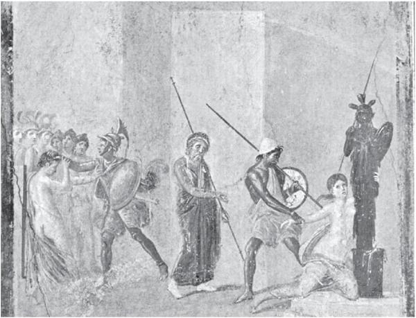 Фреска из Помпей
