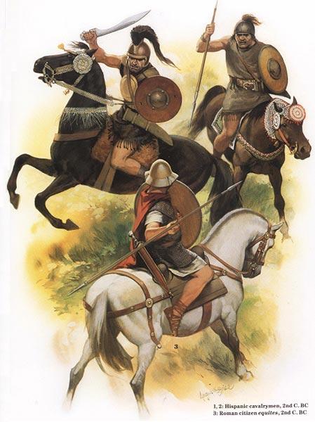 Испанские всадники