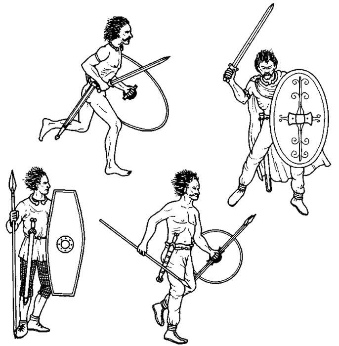 Галлы времен Пунических войн