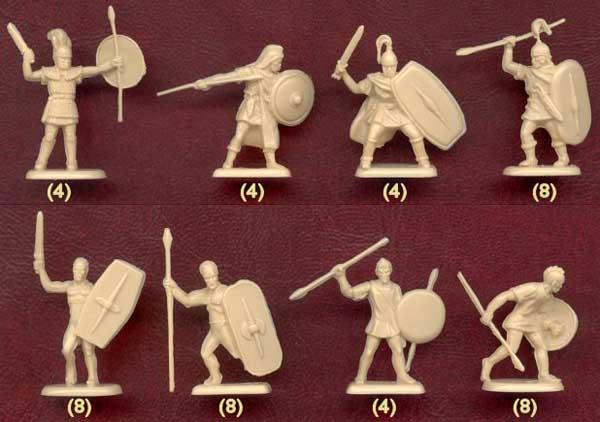 Наемники карфагенской армии