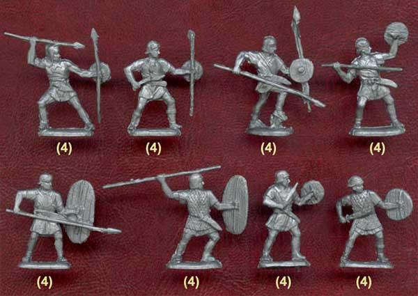 Наборы солдатиков иберов для Пунических войн