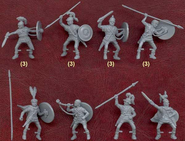 Наборы солдатиков для римской армии на Пунические войны