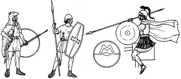 Римляне на период Пунических войн