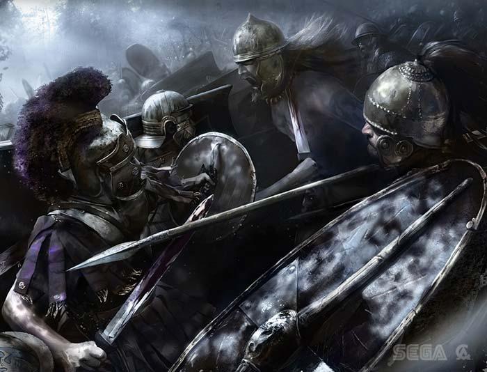 Бритты против легионов Рима