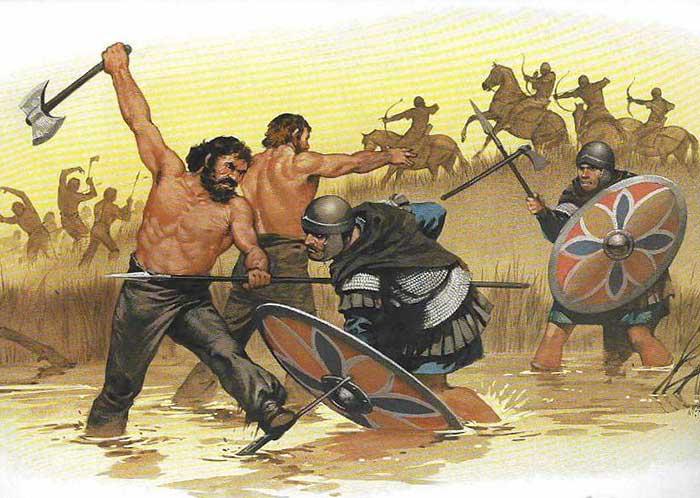 Римские вспомогательные войска против германцев