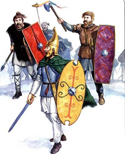 Германцы, 1 век