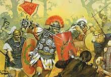 Германцы против легионов