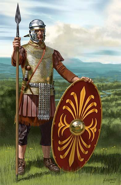 Воин вспомогательных батавских когорт