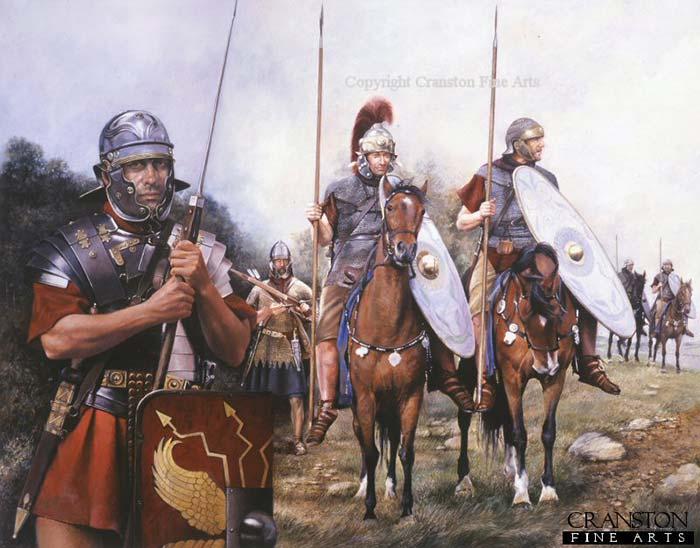 Римские войска середины 1 в.