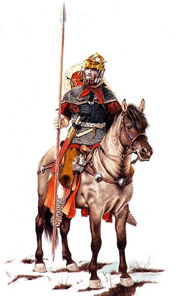 Римский всадник середины 1 в.
