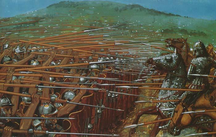 Легионеры ранней империи против парфян
