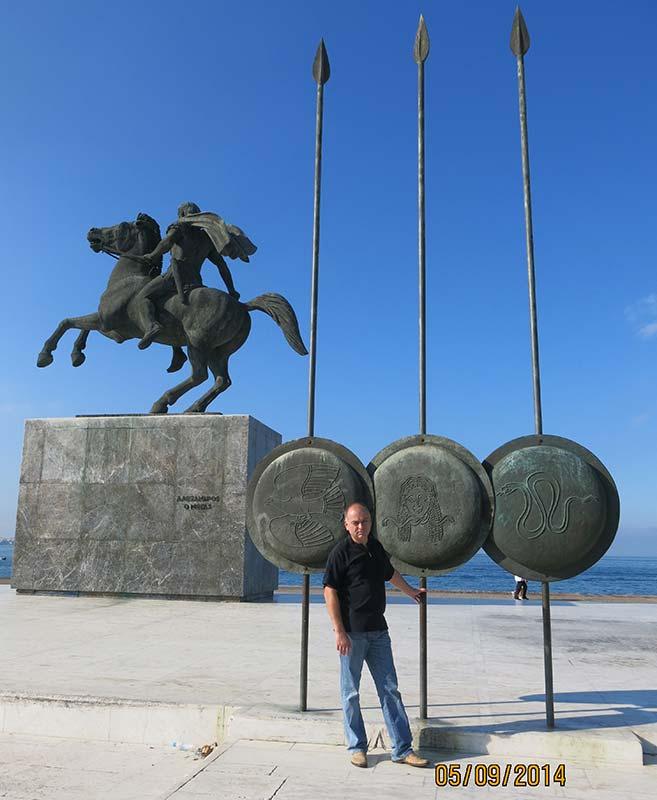 Памятник Александру Македонскому в Салониках