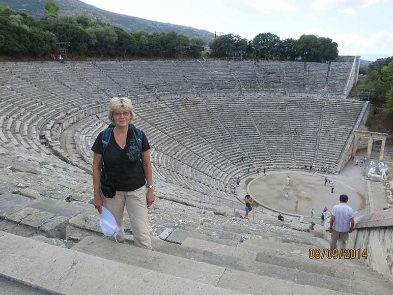 Амфитеатр в Эпидавре