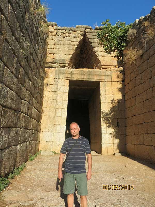 Гробница Атрея в Микенах