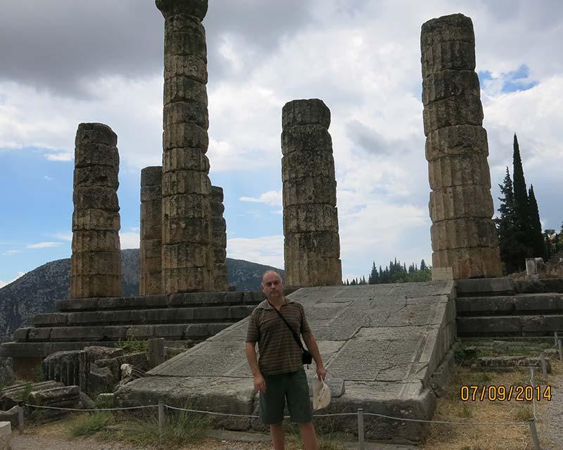 Храм Аполлона - Дельфийский оракул